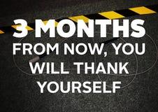Aptidão e citações da motivação do gym Imagem de Stock