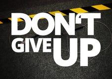 Aptidão e citações da motivação do gym Foto de Stock Royalty Free