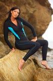 Aptidão e nadada Fotografia de Stock Royalty Free