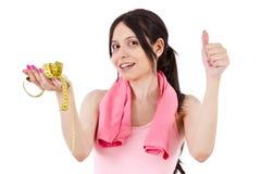 Aptidão e dieta Fotografia de Stock