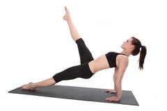 Aptidão - Pilates Imagem de Stock