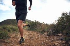 Aptidão running da fuga Fotografia de Stock Royalty Free
