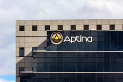 Aptina Imaging Corporation Headquarters in Silicon Valley, Calif Royalty Free Stock Photography