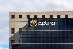 Aptina Kopiering Korporation högkvarter i Silicon Valley, Calif Royaltyfri Fotografi