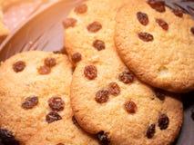 Aptitretande amerikanska kakor Närbild arkivbild