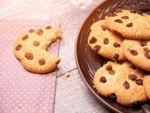 Aptitretande amerikanska kakor Närbild fotografering för bildbyråer