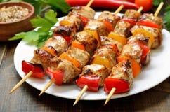 Aptitretande feg kebab royaltyfria bilder