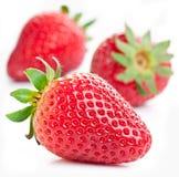 aptitretande jordgubbe royaltyfri bild