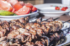 Aptitretande kebab Royaltyfri Fotografi
