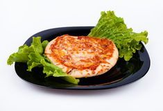 Aptitretande pizza Arkivbilder