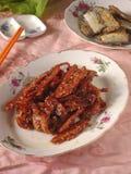 Aptitretare för fisk för kinesSzechuan kryddig chili Royaltyfri Foto