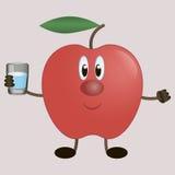 Aptitud de Apple Imagen de archivo libre de regalías
