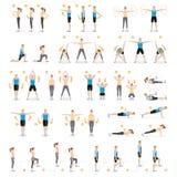 Aptitud del entrenamiento del hombre y de la mujer, aerobia, ejercicios