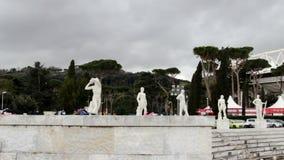 Aptitud en Roma, Italia almacen de metraje de vídeo