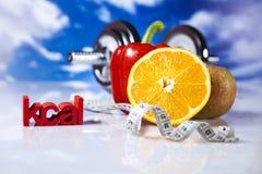 Aptitud y vitaminas Fotos de archivo