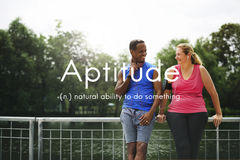 Aptitude Natural Human Ability Graphic Concept Stock Photo