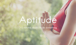 Aptitude Natural Human Ability Graphic Concept Royalty Free Stock Photography