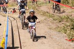 APTOS村庄- 4月14日:第4只每年圣克鲁斯登山车Fe 免版税图库摄影