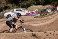 APTOS村庄- 4月14日:第4每年圣克鲁斯登山车Fe 免版税图库摄影