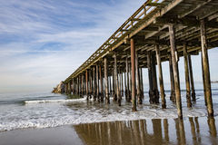 Aptos pier. The aptos pier in california royalty free stock photos