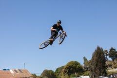 APTOS VILLAGE - APRIL 14: 4th Annual Santa Cruz Mountain Bike Fe Stock Photography