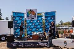 APTOS VILLAGE - APRIL 14: 4th Annual Santa Cruz Mountain Bike Fe Royalty Free Stock Image
