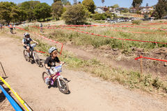 APTOS VILLAGE - APRIL 14: 4th Annual Santa Cruz Mountain Bike Fe Stock Photos