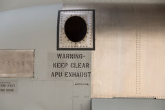 APU Exhaust Stock Images