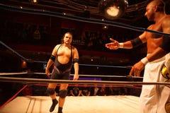 Apu Singh vs Joe E legend Royaltyfri Foto