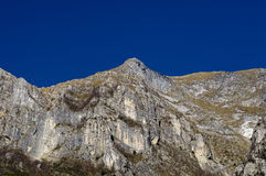 Apuan alps Royalty Free Stock Images