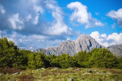 Apuan alps, mt. Altissimo. Picture taken during my trekking in the apuan alps Italy Royalty Free Stock Photo
