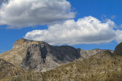 Apuan Apls. View of a detail of Apuan Alps, Italy Stock Photography