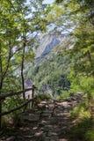Apuane berg Fotografering för Bildbyråer