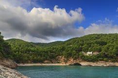 Apula coast,Gargano National Park: Pungnochiuso beach. Vieste,Italy. Royalty Free Stock Photos