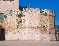 apulia城堡conversano 免版税库存照片