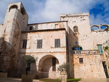 apulia城堡conversano 库存图片