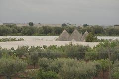 Apulia, το Murgia, η επαρχία Apulian Ιταλία Στοκ Φωτογραφίες