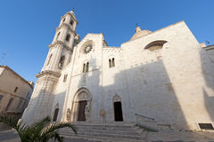 apulia bitetto大教堂意大利 免版税库存照片