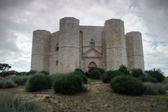 apulia castel del Ιταλία monte Στοκ Φωτογραφίες