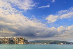 Apulia coast: Gargano National Park, bay of Peschici.-ITALY- Royalty Free Stock Images