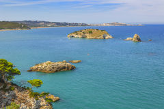Apulia coast: Gargano National Park,bay of Vieste, Italy. Stock Image