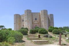 Apulia, Italy: Castel Del Monte obraz stock