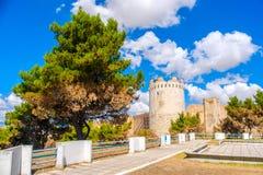Apulia region - Gargano teren - southe Lucera, Foggia prowincja - Zdjęcie Stock