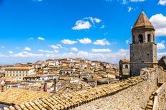 Apulia region - Włochy Bovino, Foggia prowincja - obrazy royalty free
