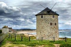 Apulia windmill stock photography