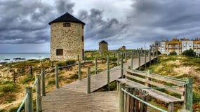 Apulia windmill Royalty Free Stock Photo