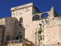 apulia城堡conversano 图库摄影