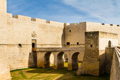 Apulian castle Royalty Free Stock Photo