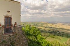 Apulien, Italien: über traditioneller Landschaft heraus schauen, Bari-Provinz stockbilder