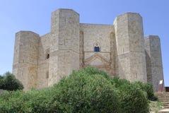 Apulien, Italien: Castel del Monte lizenzfreies stockbild